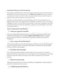 Does A Resume Need An Objective Skinalluremedspa Com