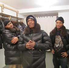 asap rocky double goose jacket