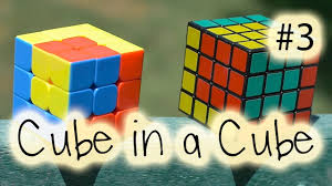 How To Make Designs On Rubik S Cube 3x3 4x4 Rubiks Cube Design Series 3 Cube In A Cube