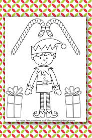 They have roots deep in the folklore of many. Elf Coloring Pages Life Is Sweeter By Design