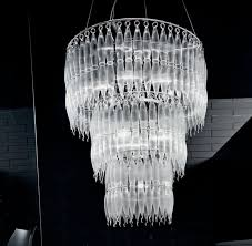 modern crystal chandelier lighting crystal drop pendant lamp for