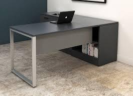 custom office desk. Black Office Desk - IOF Custom Furniture I
