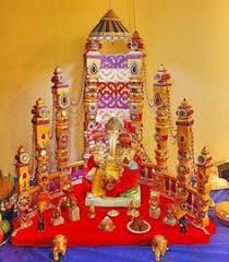 ganpati decoration ideas decoration craft and indian crafts