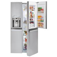 36 Refrigerators Lsc22991stlg Appliances 36 215 Cu Ft Counter Depth Side By