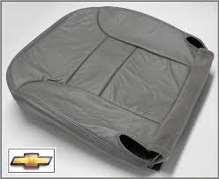 95 96 97 98 chevy tahoe 2 door sport z71 driver bottom leather seat