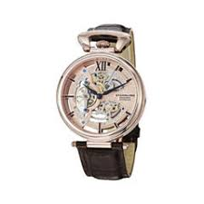 men s watches for jewelry watches jcpenney stührling® original mens rose tone dial skeleton automatic watch
