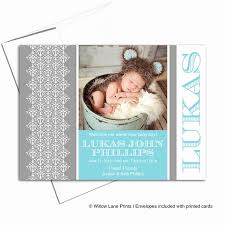 Printed Birth Announcement Baby Birth Announcement Wording Frais Baby Boy Announcement Card