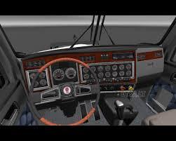 Kenworth T800 Interior Lights Kenworth T800 Ets 2 Mods Part 13