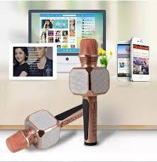 Micro Kèm Loa Bluetooth Cầm Điện Thoại Hát Karaoke 3 in 1, Micro EH-SD10  Không