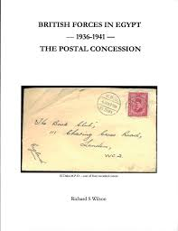British Forces In Egypt 1936 1941 The Postal Concession