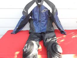 alpinestars leather jacket and pants prev