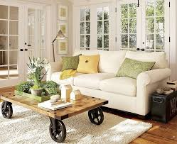 ... Living Room, French Country Living Room With Wooden Table And White  Carpet And Wooden Floor