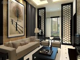 ... Architecture Brown Arts Patterned Black Area Rug Modern Asian Decor  Laminate Wooden Floor Glass Mirror Cabinet ...