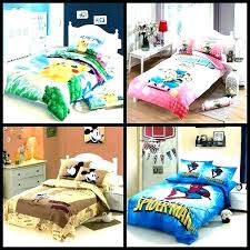 bedroom set bedding bed in a bag queen cartoon kids minions car avengers spider home pokemon