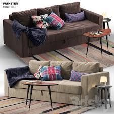 3d models sofa friheten ikea