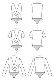 Bodysuit Sewing Pattern Inspiration Line Art Httpmccallpatternmccallm48products48php