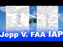 Ifr 5 Differences Between Faa And Jeppesen Approach Plates