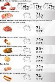 12 Best Meat Temperature Chart Images In 2019 Meat