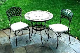 round patio table tables beautiful outdoor bistro set with fire pit big lots round patio table forte with fire pit