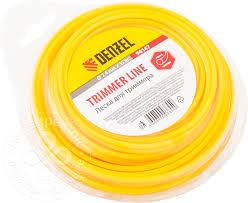 Купить <b>Леска для триммера Denzel</b> круглая 2.0*15м с доставкой ...
