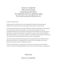 Sample Cover Letter To Whom It May Concern Cover Letter To Whom It