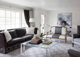 dark gray velvet sofa