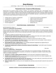 Transportation Resume Examples Transportation Resume Examples Colbro Threeroses Us