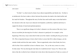 eveline is a short story by james joyce about responsibility and  document image preview