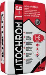 <b>Затирка</b> LITOCHROM 1-6 - купить от производителя LITOKOL
