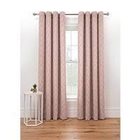 <b>Pink Geometric</b> Print Lined Eyelet Curtains | Home | George at ASDA