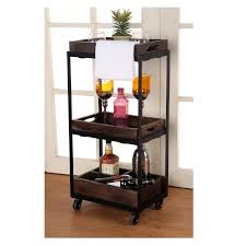 Full Size Of Bar Cart Rolling Kitchen Island Kitchen Island Cart With  Storage Wood Bar Cart ...