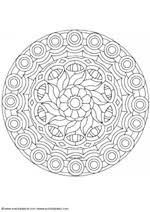 Traditionele Mandalas Kleurplaten Voor Volwassenen