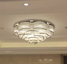 Contemporary Led Light Fixtures Contemporary Ceiling Light Glass Stainless Steel Led