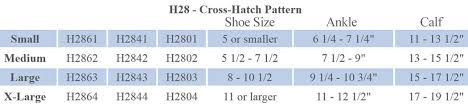 Activa Compression Socks Size Chart Activa Dress 15 20 Mmhg Cross Hatch Trouser Compression