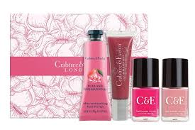 crabtree evelyn pear and pink magnolia mini gift set 45
