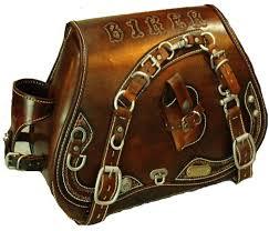 originex custom leather saddle bag