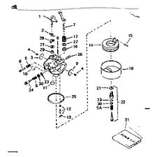 Tecumseh model H50-65417L engine genuine parts