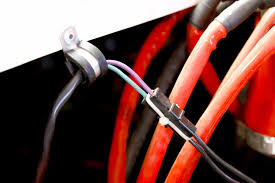 tips on race car wiring systems hot rod network for this ignition box to distributor connector dick uses a small tie wrap that is