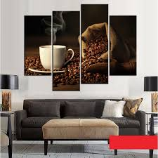 Wall Art Sets For Living Room Online Buy Wholesale Coffee Canvas Art Set From China Coffee