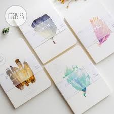 mousrs gl sea series notebook blank inside pages notebook lovely original aesthetic 1pcs