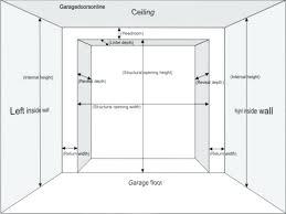 Garage Door Opening Height Honeycode Co
