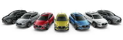 Audi A3 Colour Chart 2018 Hyundai Kona Exterior Interior Color Options