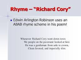 richard cory analysis essay