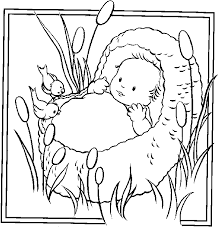 Small Picture Photos Baby Moses Coloring Pages Moses Baby Pinterest Baby