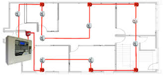 wiring diagram circuit diagram of addressable fire alarm system fire alarm wiring methods at Fire Alarm Wiring Diagram Single Loop