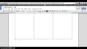 6 Sided Brochure Template How To Make 2 Sided Brochure With Google Docs Youtube