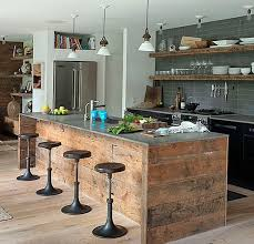 Rustic Kitchens With Islands