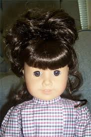 fix frizzy hair on an american doll