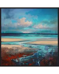 cloudy beach framed canvas wall art by scott naismith 25 5 x25 on beach framed canvas wall art with on sale now 20 off cloudy beach framed canvas wall art by scott