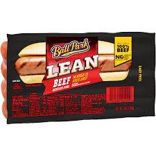 ball park original length lean beef franks 14 oz 8 count